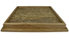 "Oak 20"" X 20"" Square Table Top Habitat Base"
