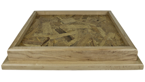 "Maple 18"" X 18"" Square Table Top Habitat Base"